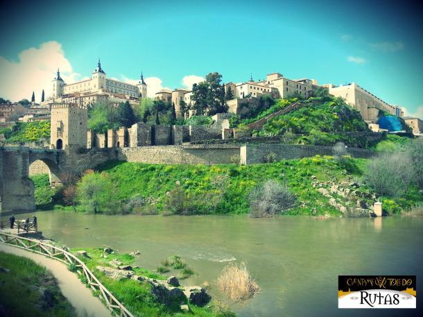 Las Fotos de Cuéntame Toledo: Vista de la ciudad desde Alcántara